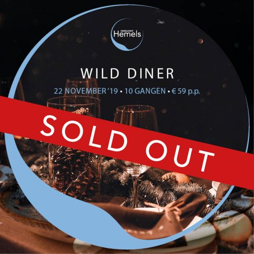 2019 wild diner hemels breda SOLD OUT